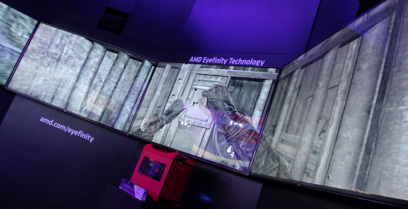 Thief gameplay hands-on: offscreen with 5 displays and Radeon R9 290X