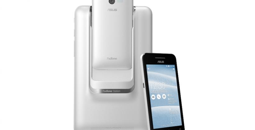 ASUS unveils a different PadFone mini at CES 2014