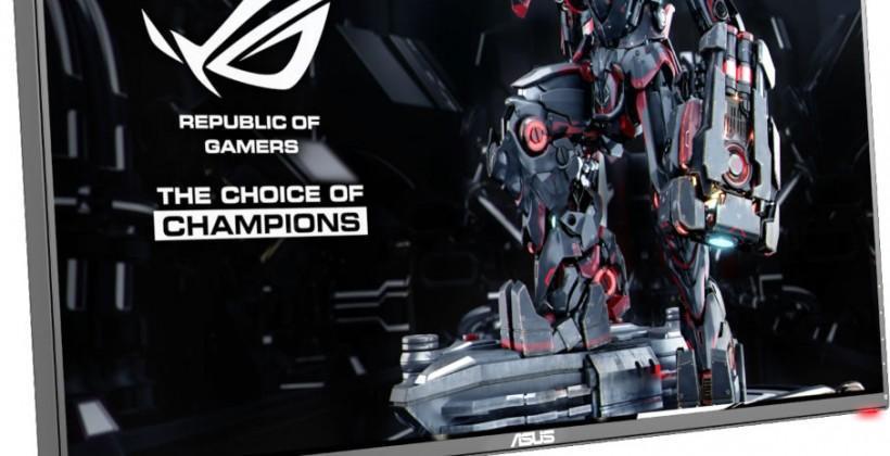 """ASUS ROG """"Republic of Gamers"""" SWIFT monitor brings NVIDIA G-SYNC with WQHD resolution"""
