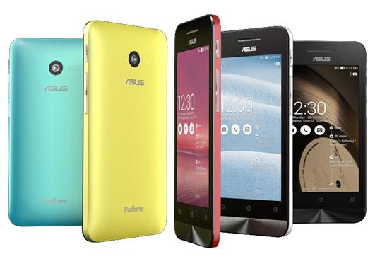 ASUS ZenFone smartphone lineup debuted with Intel Atom processors