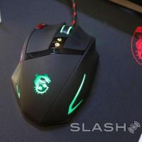 MSI Interceptor DS200 and DS100 gaming mouse hands-on