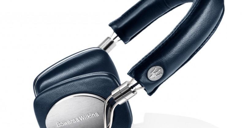 Bowers & Wilkins P5 Maserati Edition headphones and 805 Maserati loudspeaker unveiled