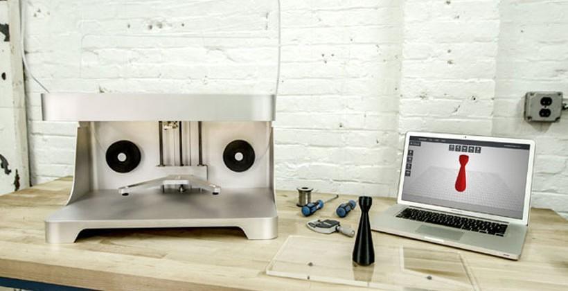 MarkForged Mark One 3D printer prints carbon fiber objects