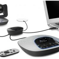 Logitech ConferenceCam CC3000e video conferencing solution features Carl Zeiss optics