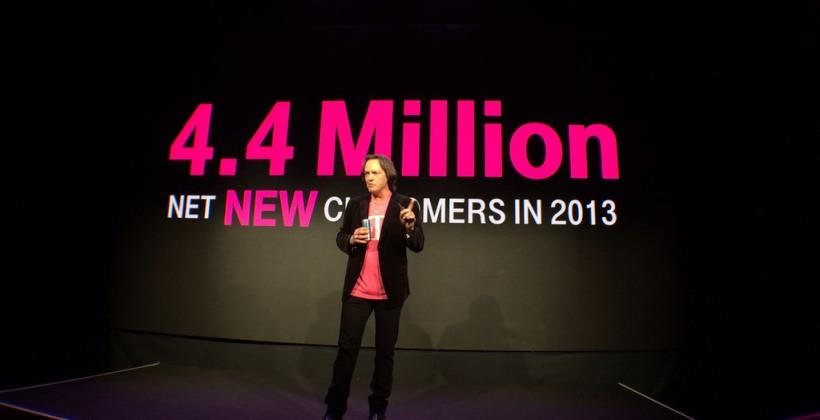 T-Mobile adds 4.4m subs in 2013 with LTE speed push