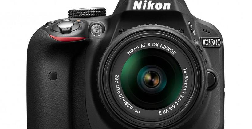 Nikon D3300 DSLR rocks 24.2MP DX-format CMOS sensor and EXPEED 4 processor