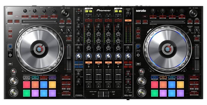 Pioneer DDJ-SZ DJ controller supports Serato DJ software