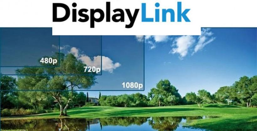 DisplayLink DL-5500 to support 4K video via USB 3.0 connection