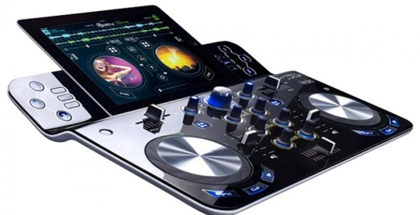 Hercules DJControlWave DJ controller for iPad debuts at CES 2014