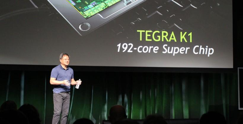 NVIDIA Tegra K1 official with 192-cores for mobile devices