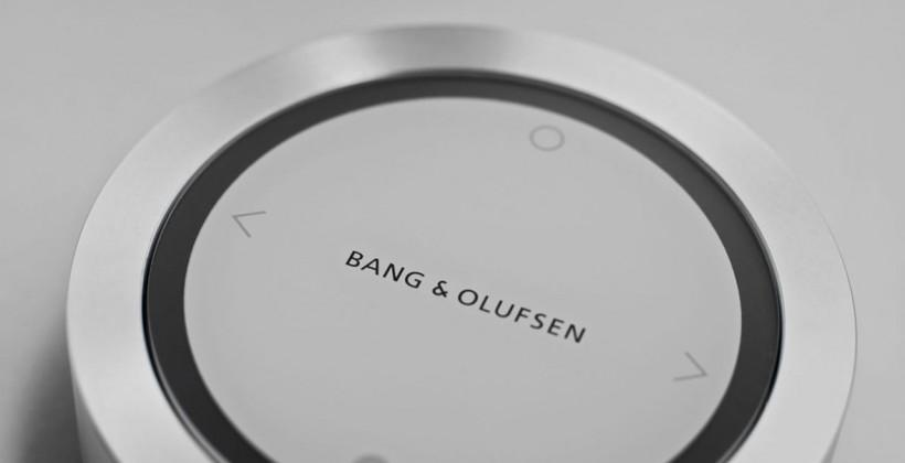 Bang & Olufsen BeoSound Essence sound system plays music with a single touch