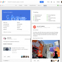 Google+ Explore turns misunderstood network into social Reader replacement