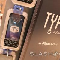 Typo iPhone keyboard hands-on: BlackBerry's bane