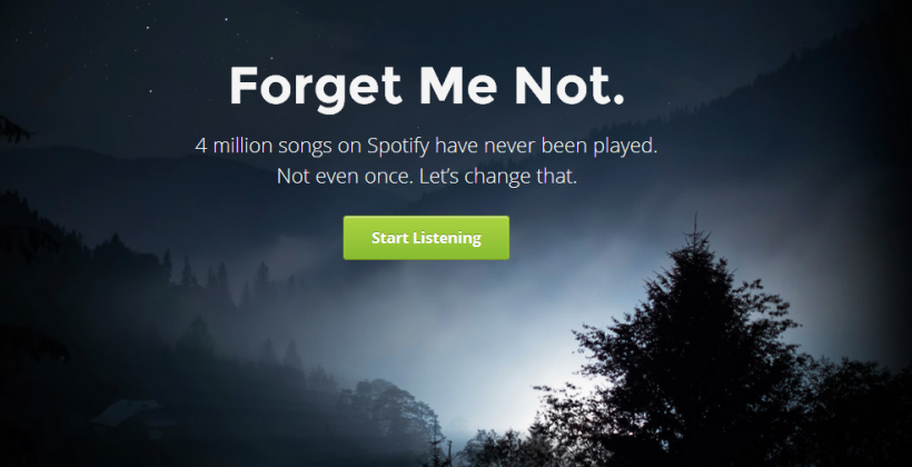 Forgotify makes it easy to give never-played Spotify songs a little love