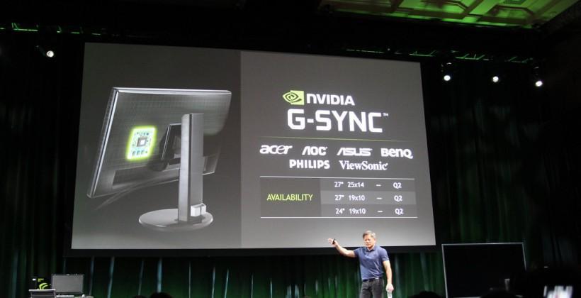 NVIDIA G-Sync monitors ready for market in Q2 2014