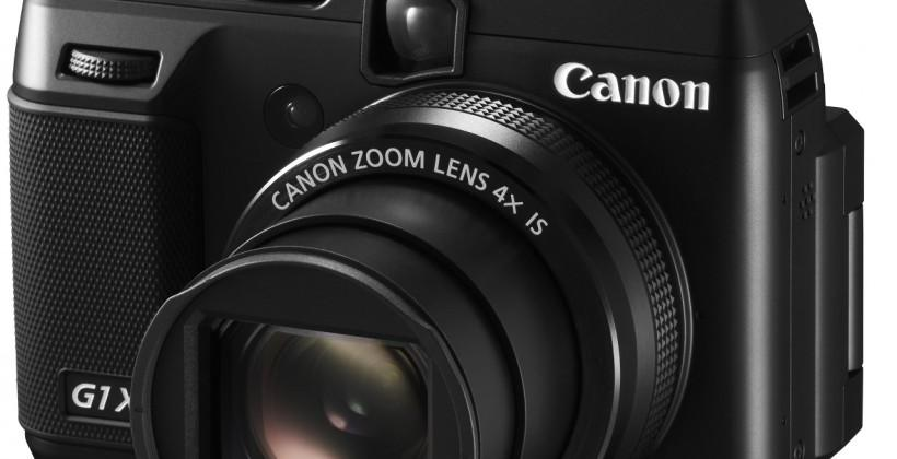 Canon PowerShot G1 X Mark II digital camera alleged specifications surface