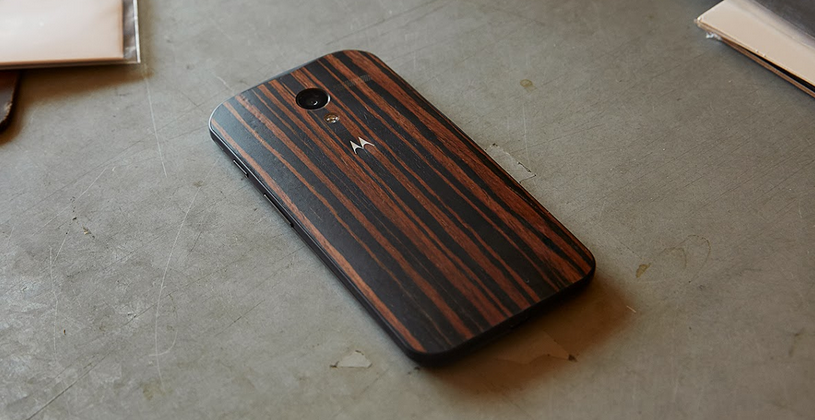 Moto X wood casings expand with new Walnut, Teak, Ebony, and price point