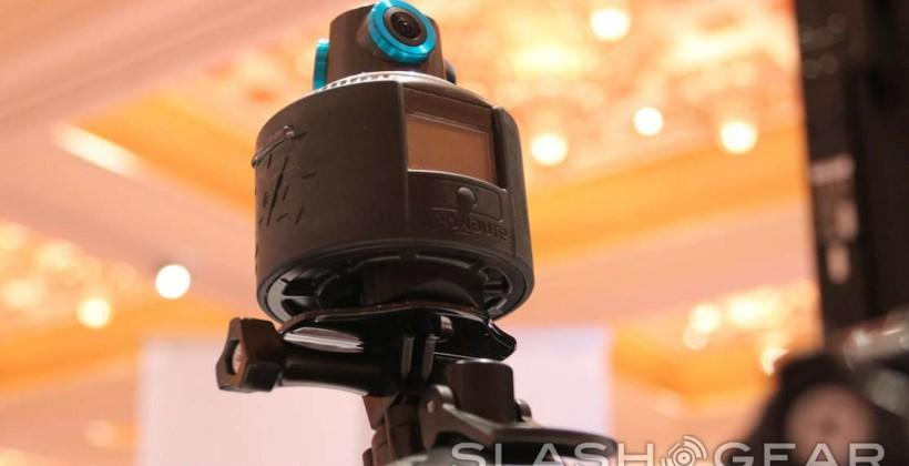 Geonaute hands-on: 360-degree action camera for spherical video