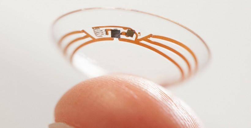 Google reveals smart contact lens for keeping an eye on tear glucose