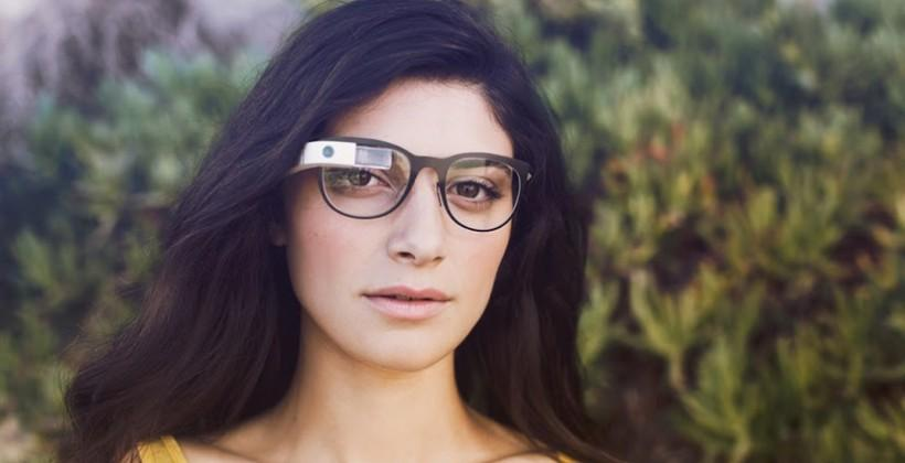 Google Glass prescription frames official in four styles