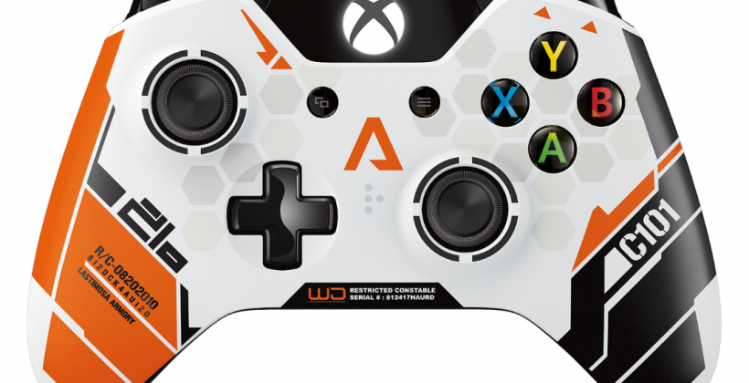 Xbox One Titanfall wireless controller unveiled for game's March launch