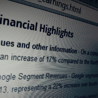 Google Q4 2013 earnings report shows revenue on the upswing