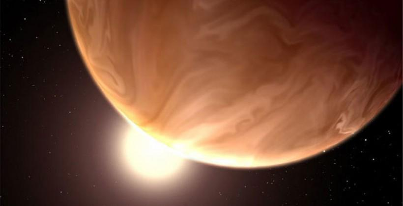 Hubble Space Telescope discovers thick clouds on nearby exoplanets