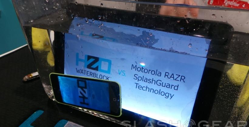 HzO's nanocoating process, our hands-on from the inside out
