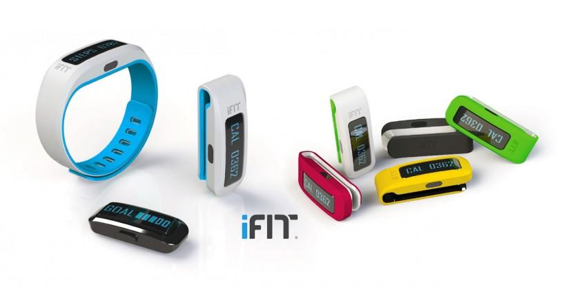 iFit Active band tracks your fitness at home, outside, and in the gym