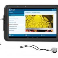 New Intel Education Tablet features snap on magnification lens and thermal probe