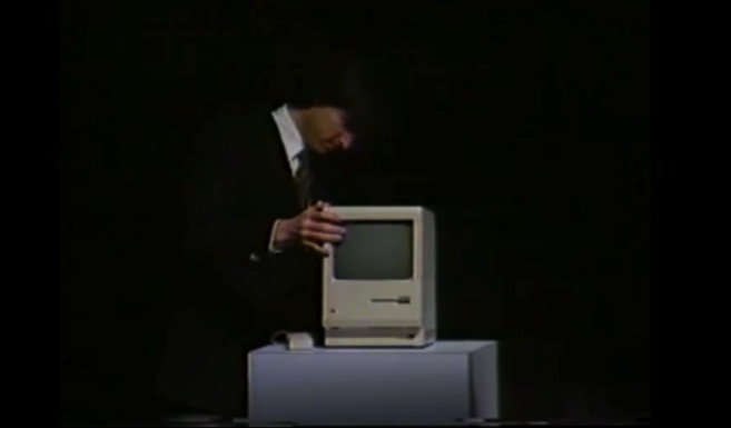 Steve Jobs original 1984 Mac demo footage unearthed & restored