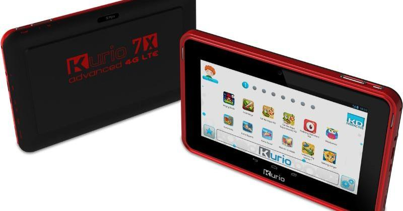 Kurio Phone and 7x 4G LTE tablet for kids revealed at CES 2014