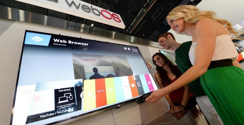 LG bares WebOS Smart TV plans at CES 2014