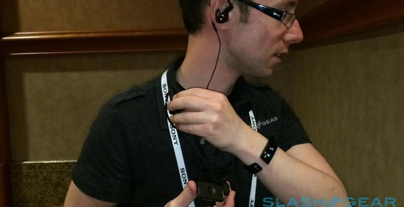 LG LifeBand Touch and Heart Rate Earphones hands-on