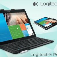 Logitech PRO case for Samsung Galaxy NotePRO and TabPRO comes with a keyboard