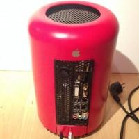 PC mod imitates Mac Pro 2013 design