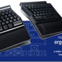Matias Ergo Pro Keyboard crams mechanical switches inside an ergonomic shell