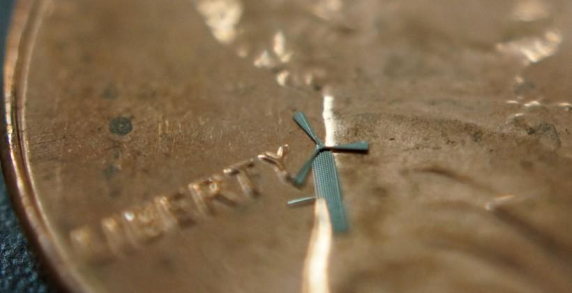 Micro-windmills could charge your iPhone with waving