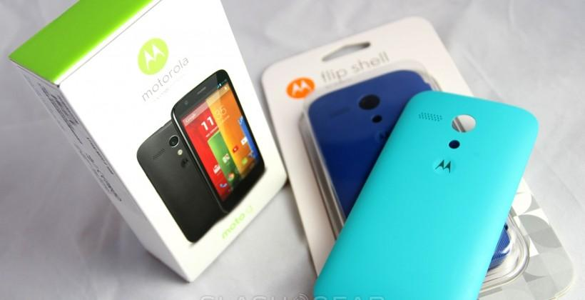 Verizon Moto G prepaid launch details confirmed
