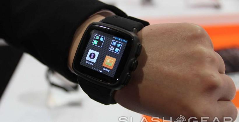 Omate TrueSmart smartwatch hands-on: SIM-toting shooter in the wild