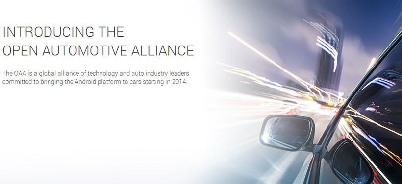 Google Open Automotive Alliance bringing Android to cars