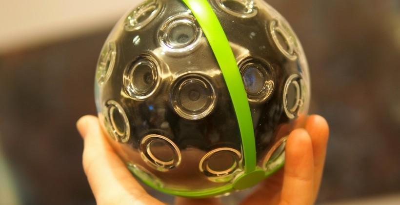 Panono 360-degree 108MP throwable ball camera hands-on