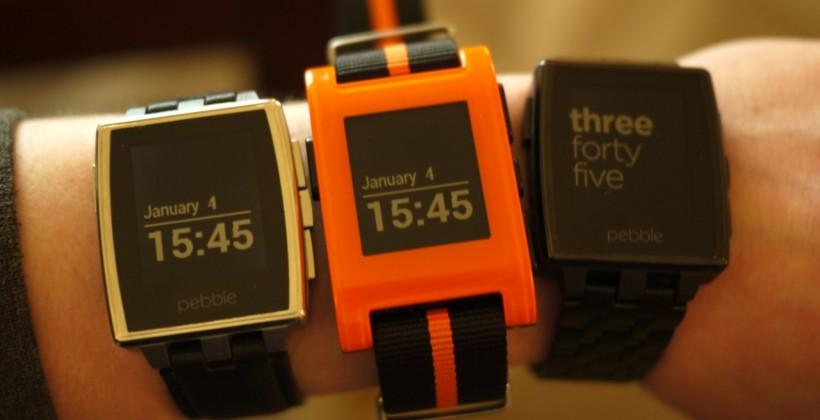 Pebble Steel hands-on: The smartwatch goes classy