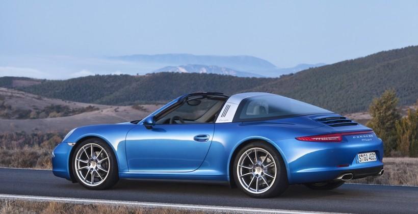 Porsche 911 Targa revealed with trick retro roof