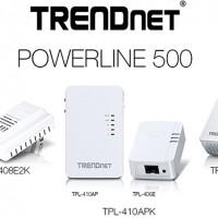 Trendnet Powerline 500 networking series grows at CES 2014
