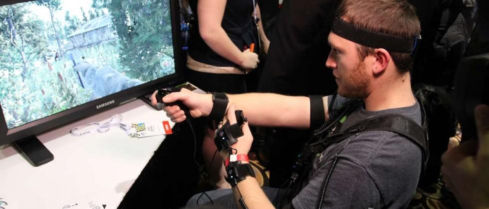PrioVR full-body motion controller hands-on: Nunchucks and headbands