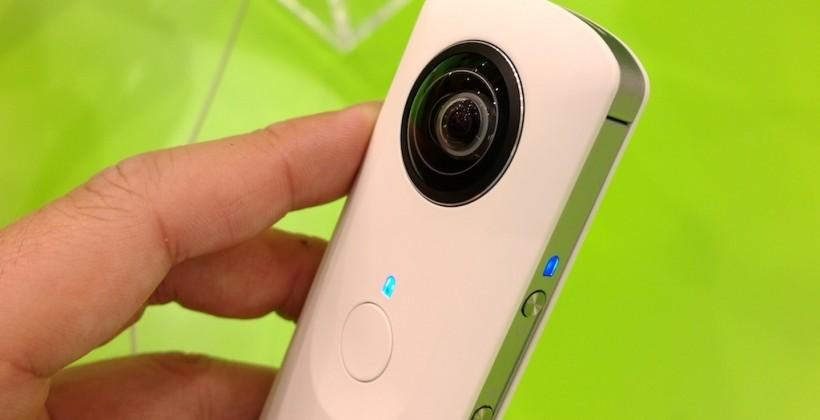 Ricoh Theta camera update brings spherical image uploading to Google Maps and Plus