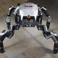 RoboSimian is the NASA JPL entry for the DARPA Robotics Challenge