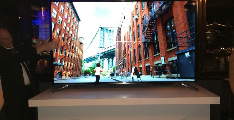 Samsung flexible TV headlines CES 2014 range: Eyes-on