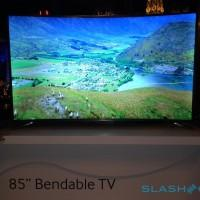 Samsung U9500 Curved 105″ and U9B Bendable 85″ UHD TVs arriving this year